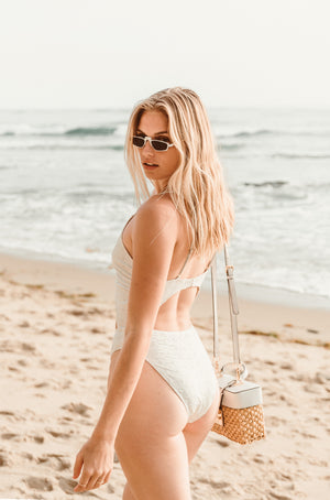 The Mykonos Eyelet One Piece