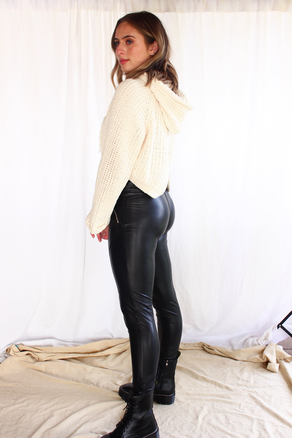 The Mika Faux Leather Pants