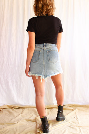 The Nixon Denim Skirt