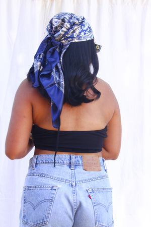 The Nyla Scarf (Navy)