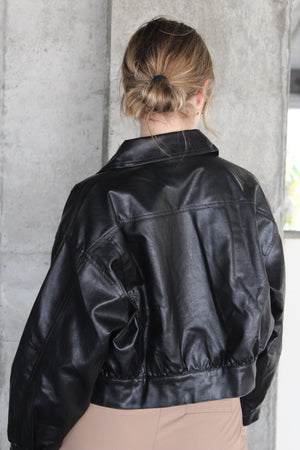 The Voss Vegan Leather Jacket