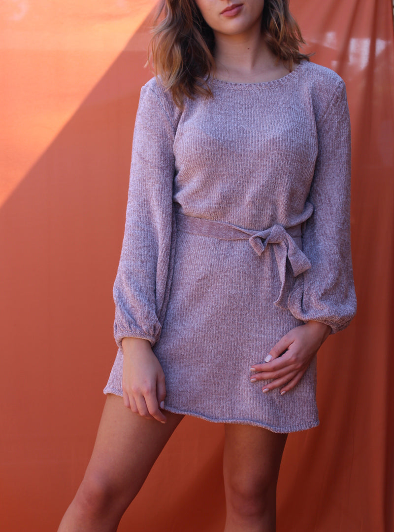 The Saffron Sweater Dress