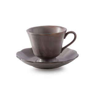 ATTIC cup&saucer (tea cup-smooth rim ∅ 14*8 cm)