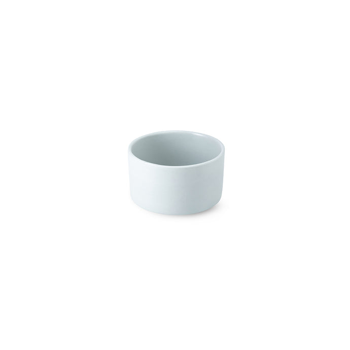 LAB bowl/large cup frost on blue grey clay (no handle without line)
