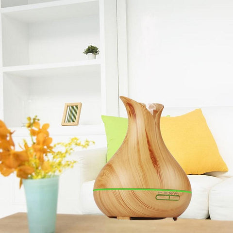 LOOVE Lavender Woodgrain 400ml - Indoor Ultrasonic Essential Oil & Aromatherapy Diffuser