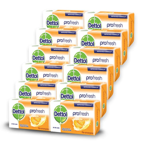 Dettol Soap Proskin Re-Energize (12 Pack)