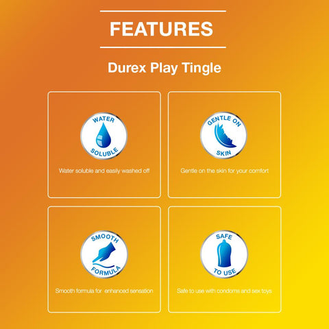 Durex Play Lube Tingle - 50 ml