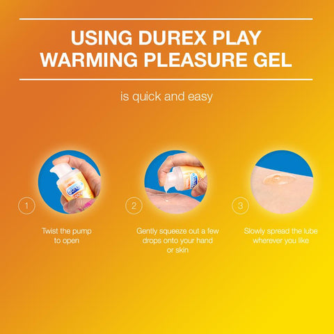 Durex Play Lube Warming - 50 ml