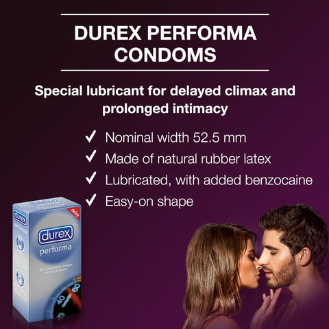Durex Performa Condoms 12's