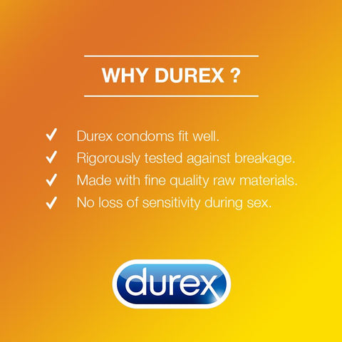 Durex Pleasure Me Condoms 12's