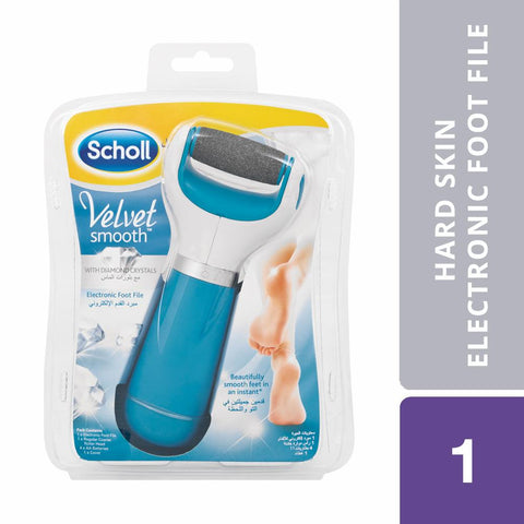 SCHOLL Hard Skin Electronic Foot File
