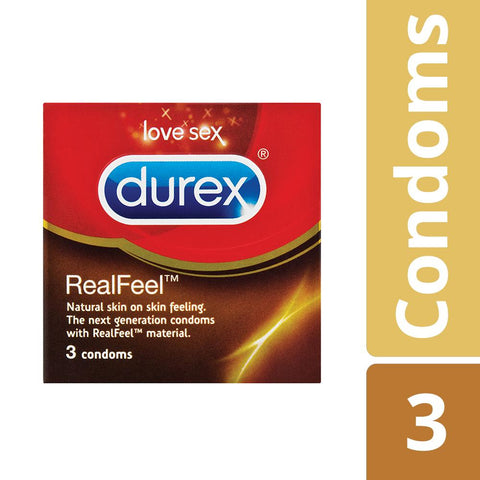 Durex Real Feel Condoms - 3's