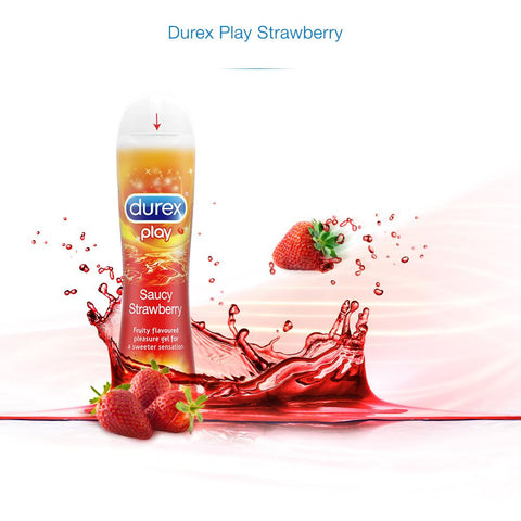Durex Play Lube Strawberry - 50ml