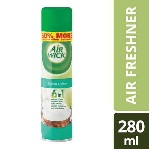 Airwick Air Freshner Cotton Breeze - 280ML
