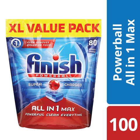 Finish All in One Dishwashing Tablets Regular - 100's
