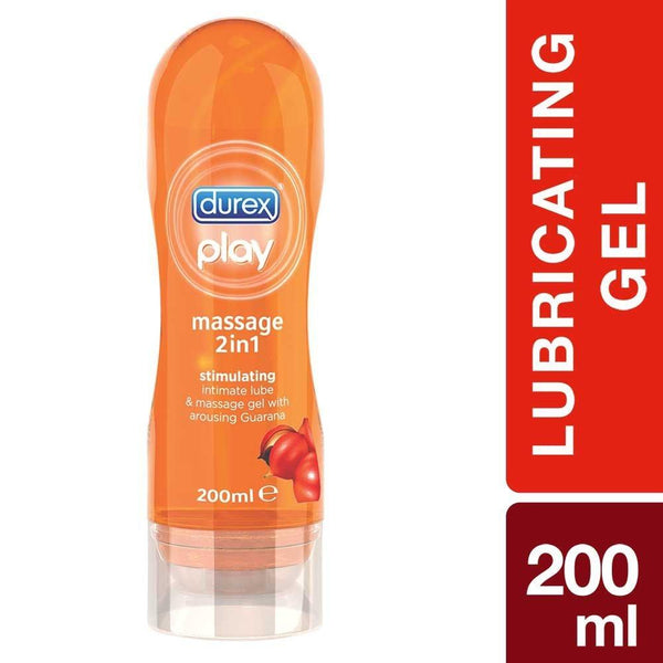 Durex Play 2 in 1 Massage Gel Stimulating (Guarana) - 200ML
