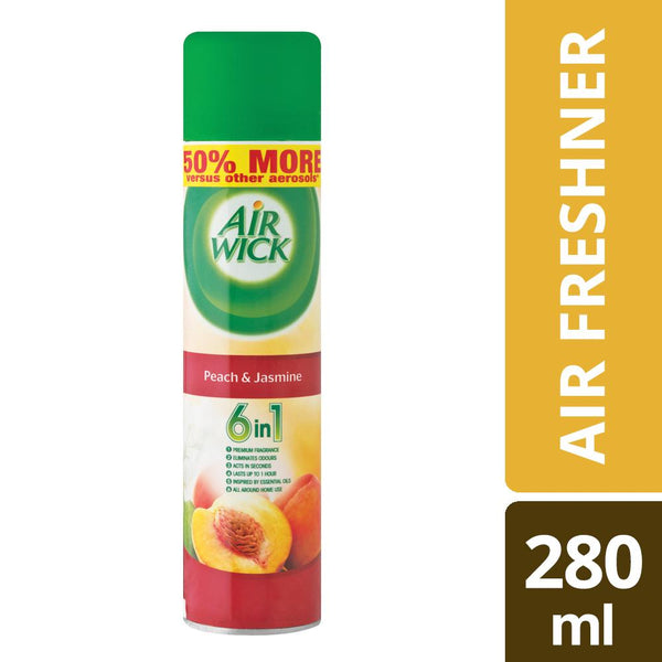Airwick Air Freshner Peach and Jasmine - 280ML