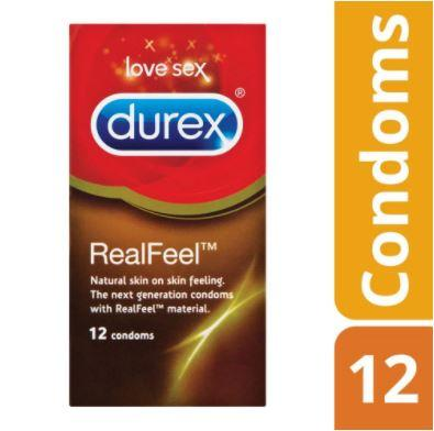 Durex Real Feel Condoms - 12's