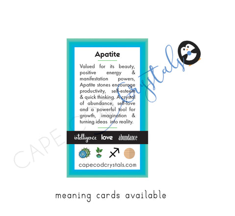 Apatite Meaning Card
