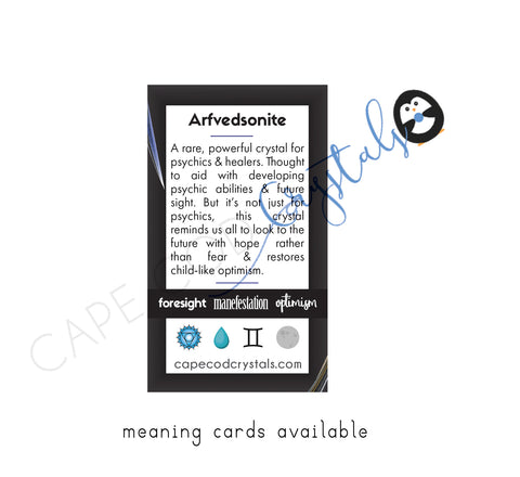 arfvedsonite meaning card