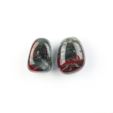 bloodstone is used for root chakra healing.