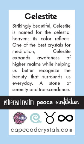 celestite meaning card