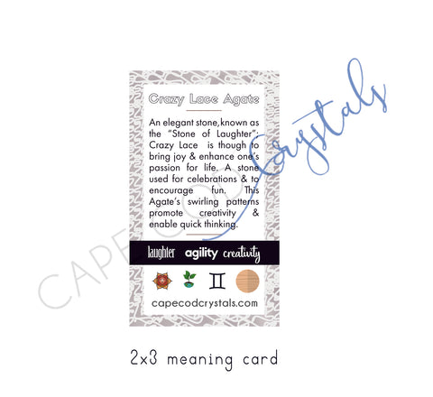 crazy lace agate meaning card