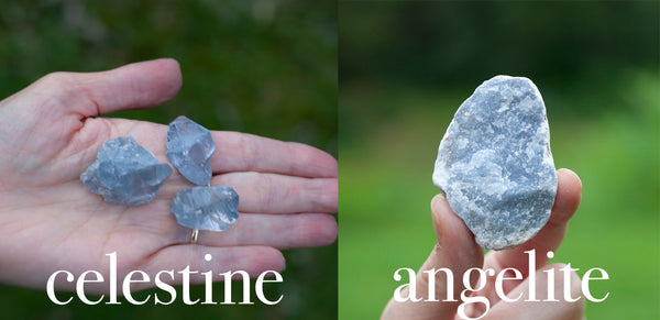 celestine and angelite