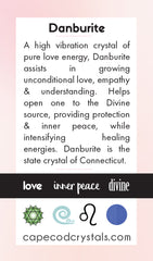Danburite Meaning Card