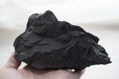 black shungite stone