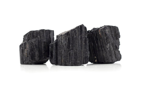 black tourmaline is one of the most common stones used for providing stable, grounding energy and cleansing the root chakra.