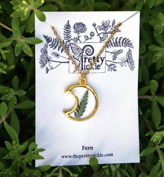 Moon Fern Necklace