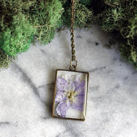 July Birth Flower Necklace