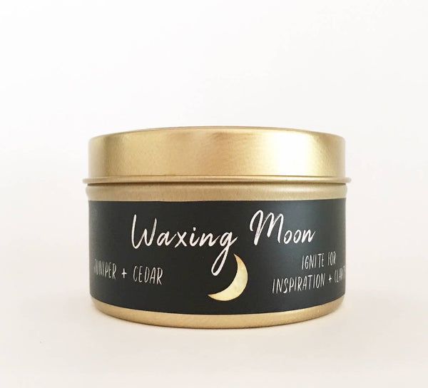 Moon Phase Collection // Waxing Moon // 6oz