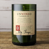 Unwined Candles - Nag Champa Signature Series - Wine Bottle Candle