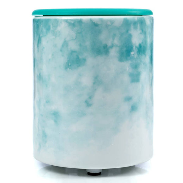 Wax Warmer | Mini USB Desktop Warmer, Watercolor Blue