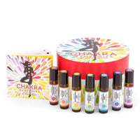 Chakra Synergies Essential Oil Gift Set - Rollon