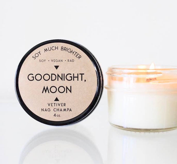 Goodnight, Moon: Vetiver + Nag Champa // 4oz