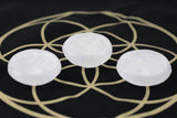 Selenite Cleansing and Charging Dishes - Small Selenite Bowls