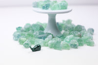 green fluorite rough