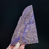 Large, Raw Charoite Slab