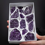 Bulk Amethyst Clusters, Whole Tray, 3lbs
