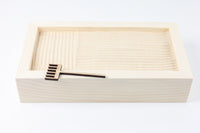 Zen Garden Kit - Wood Box, Rake & Sand