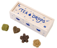 Tea Drops - Classic Assortment Wooden Box with Citrus Ginger, Matcha and Sweet Peppermint