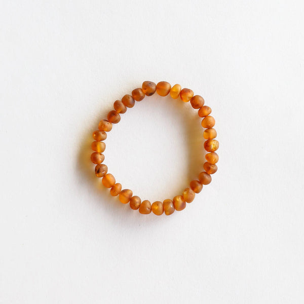 genuine raw amber bracelet