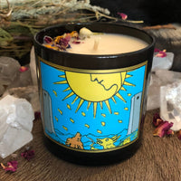 Moon Tarot Candle