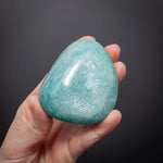 Amazonite Palm Stone, Shimmery, 5.9oz