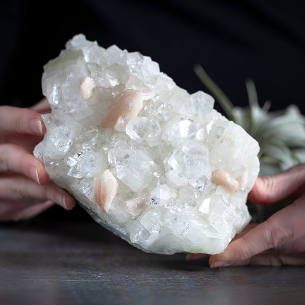 Apophyllite with Stilbite, 2lb 4oz