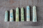 Aquamarine Obelisk | You pick, Light Blue and Green Stone Towers
