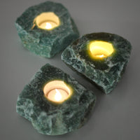 Green Aventurine Tea Light Holder